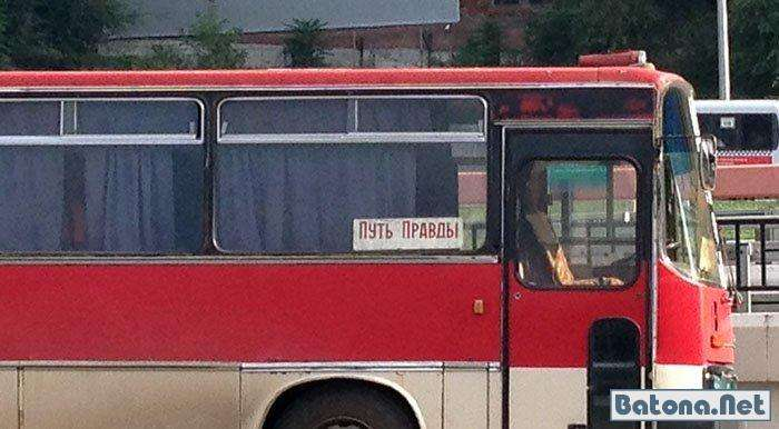 Приколи в автобусах (55 фото)