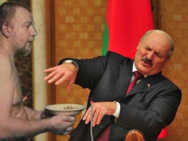 Фотожаба на Лукашенка (16 фото)