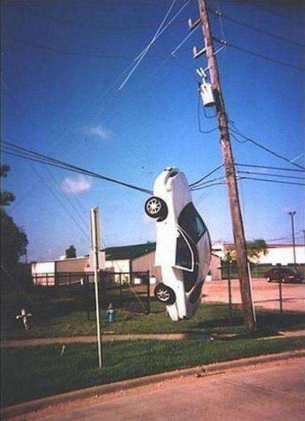 Автомобільні курйози (42 фото)