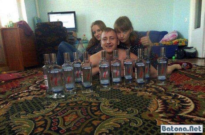 Чисто російська пиятика (68 фото)