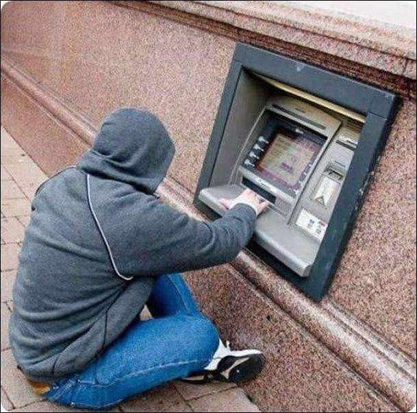 Курйози з банкоматами (29 фото)