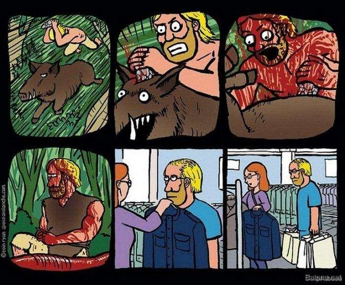 Підбірка коміксів і приколів №83 (50 картинок)
