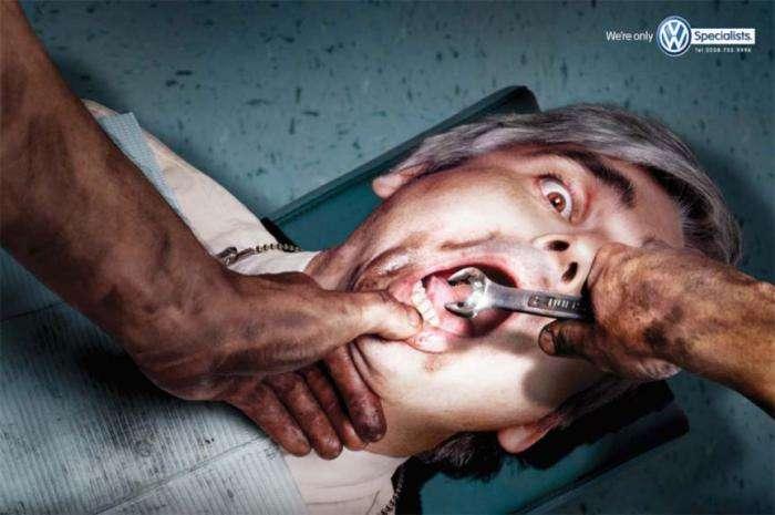 Креативна реклама (6 фото)