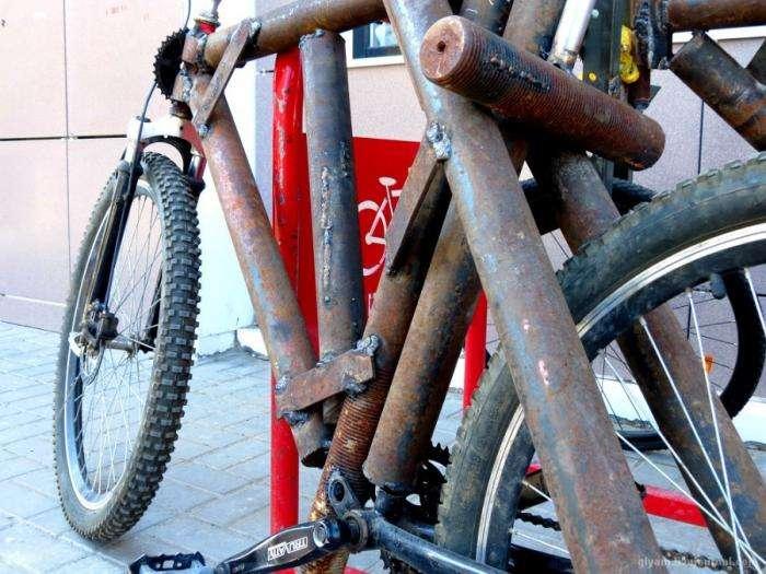 Брутальний ростовський велосипед (3 фото)
